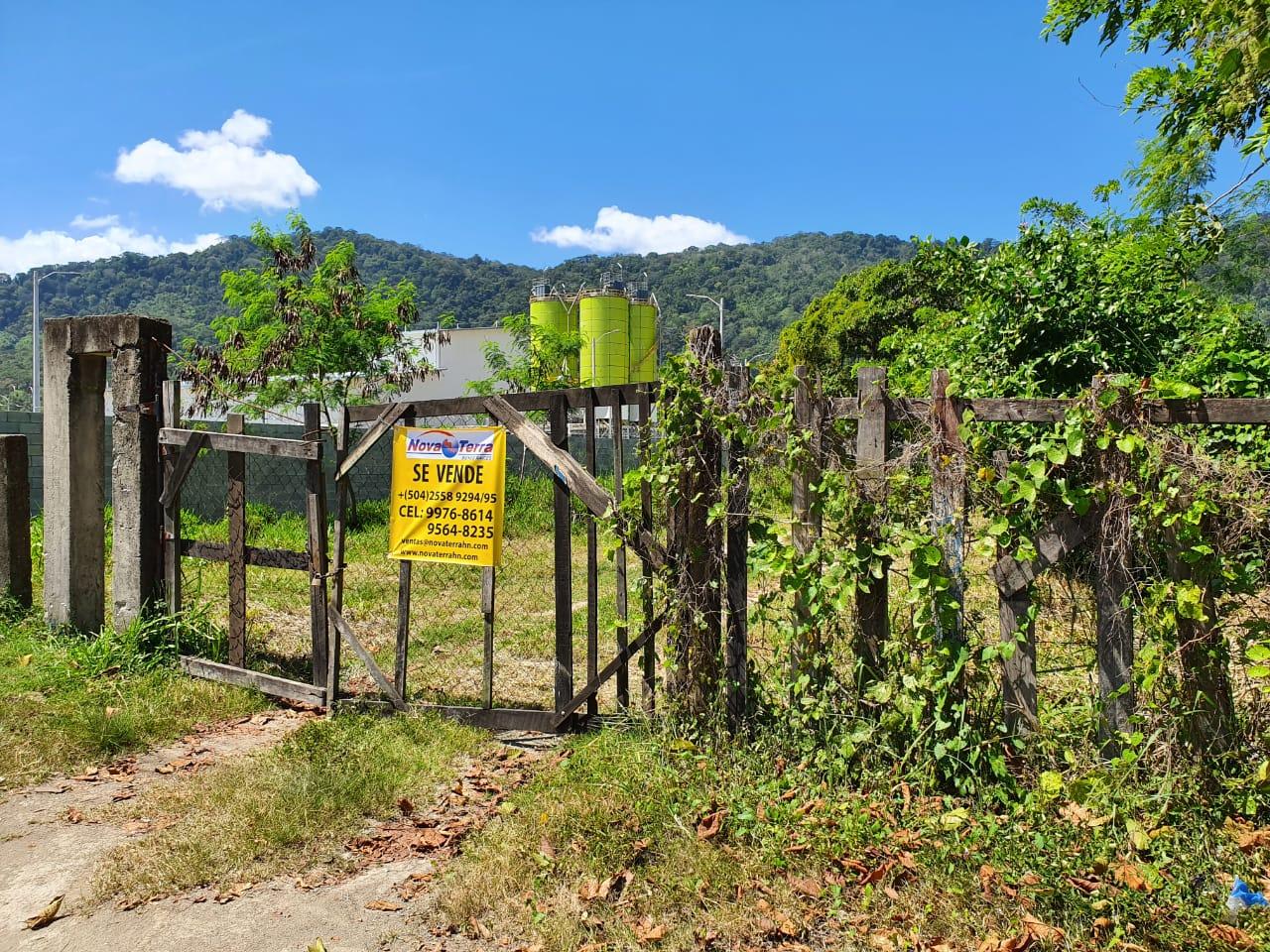 Venta de Terreno Industrial en San Pedro Sula